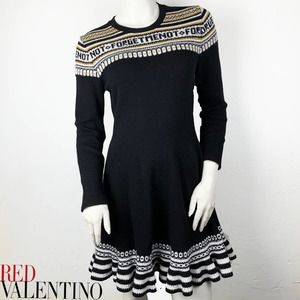 RED Valentino Forget Me Not dress RARE